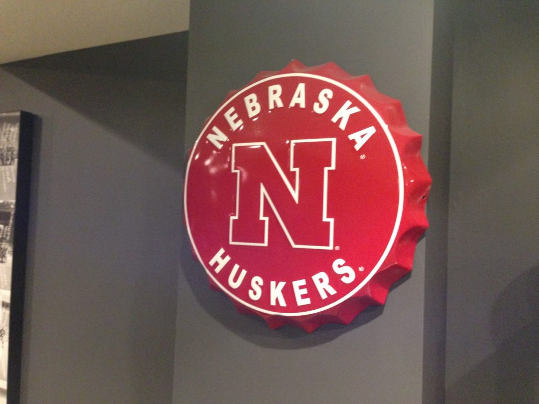 Nebraska Cornhusker Bottlecap Sign
