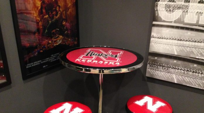 Nebraska Cornhusker Pub Table