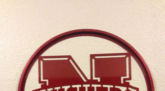 Cornhusker Metal Sign