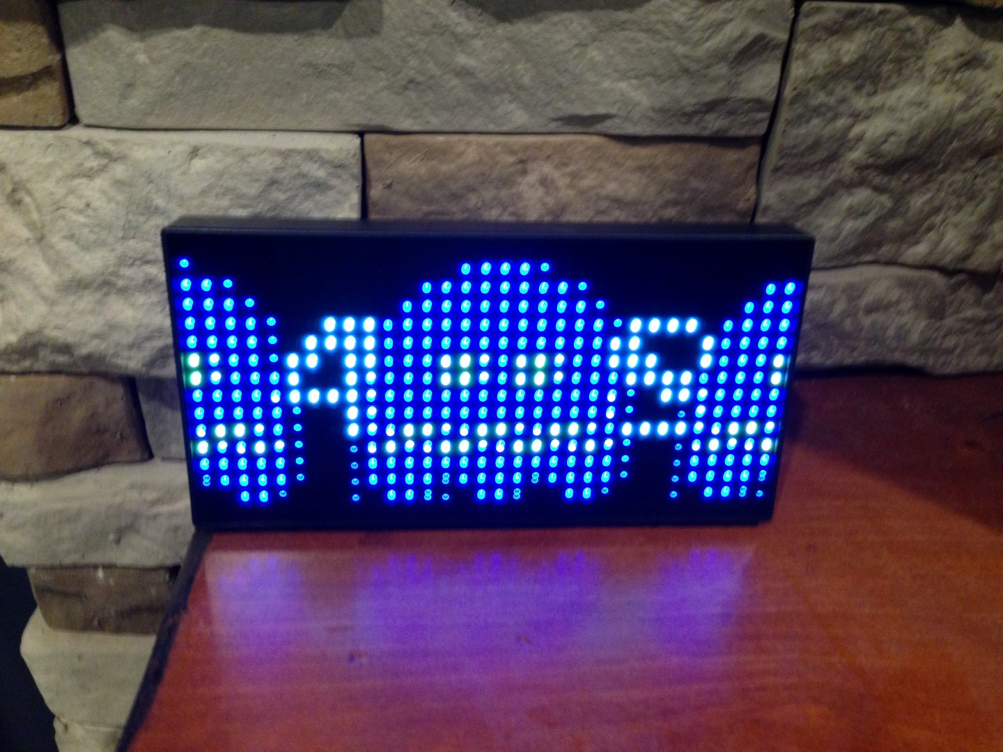 pacman clock with ghosts to be eaten