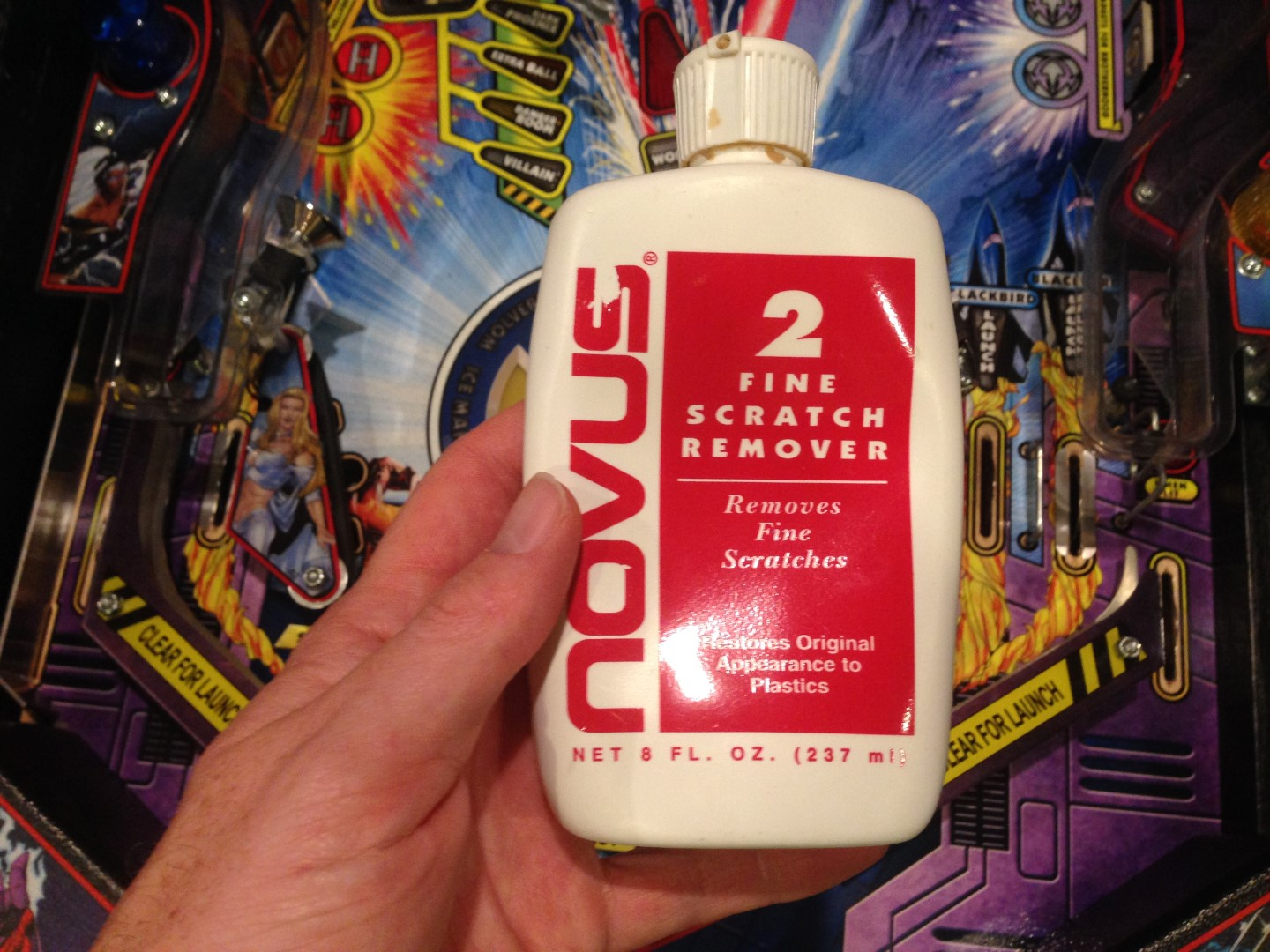 Novus 2 pinball cleaner
