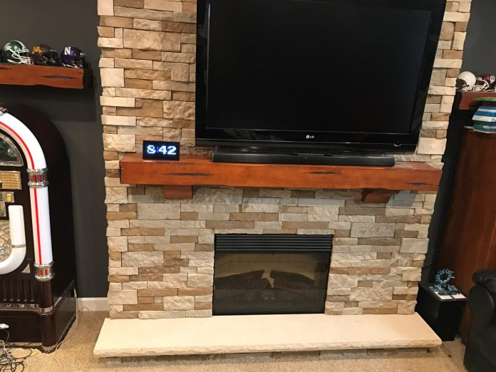 Airstone Fireplace bottom picture
