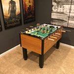 How much room do you need for a Foosball table?
