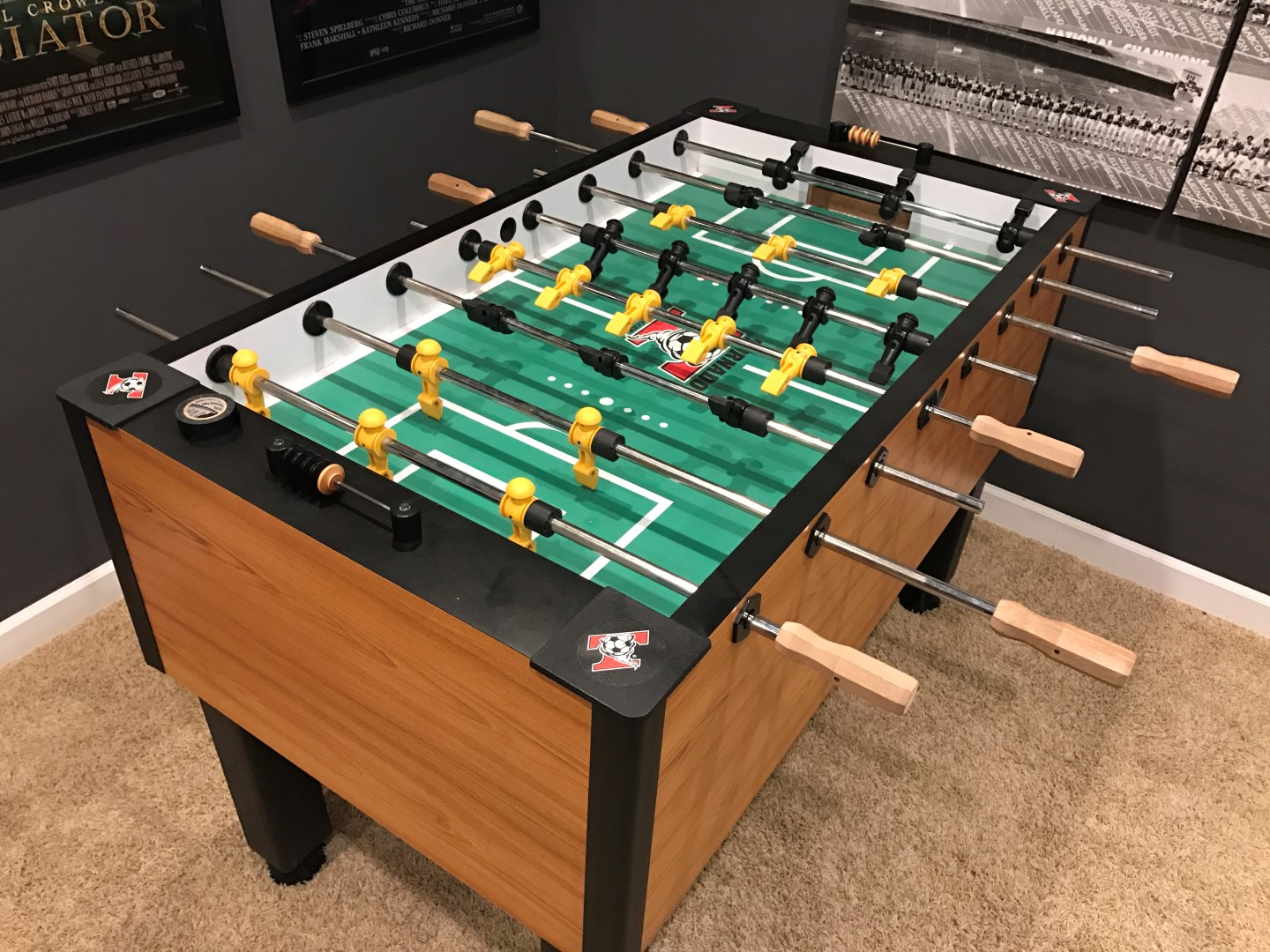 Foosball Table Electronic Sound System Game Room Info - How much does a foosball table cost