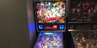 X-Men pinball machine pro model