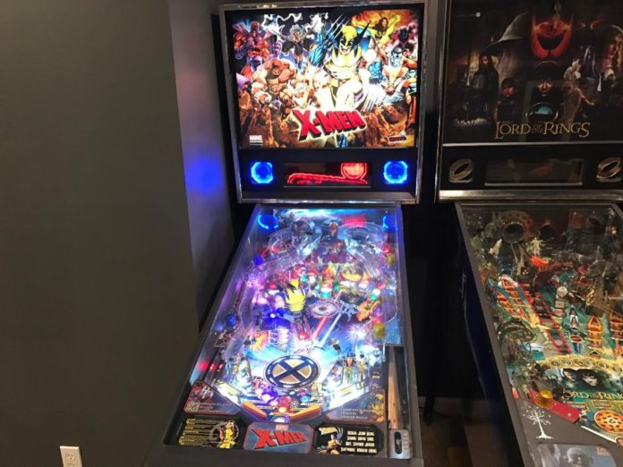 X-Men pinball machine pro model