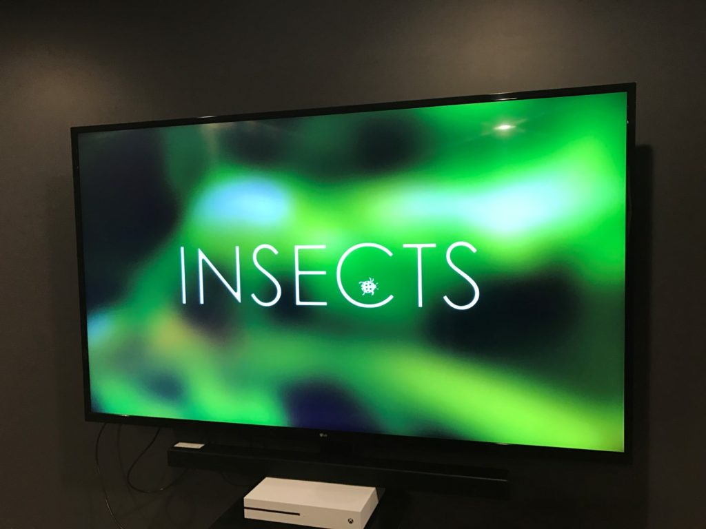 LG UJ6200 TV Insects Demo