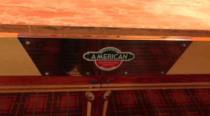 American Shuffleboard Company table logo