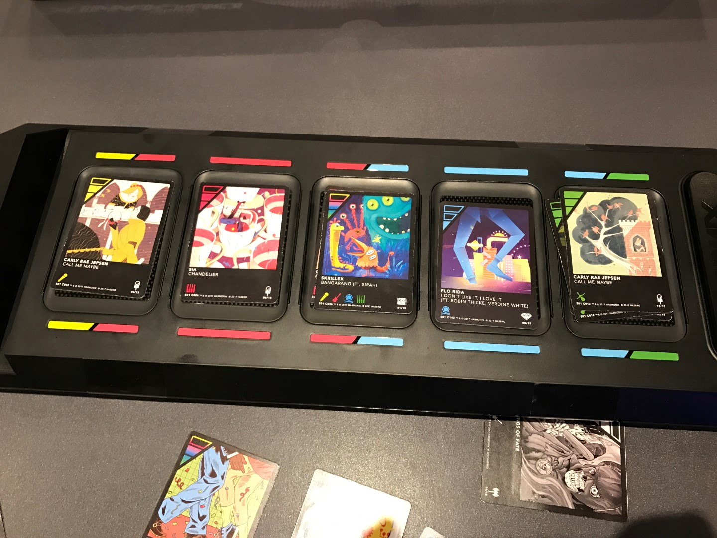 DropMix Board with cards