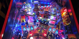Stern AC/DC Premium New Pinball Machine