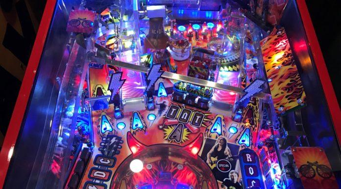 Stern AC/DC Premium New Pinball Machine