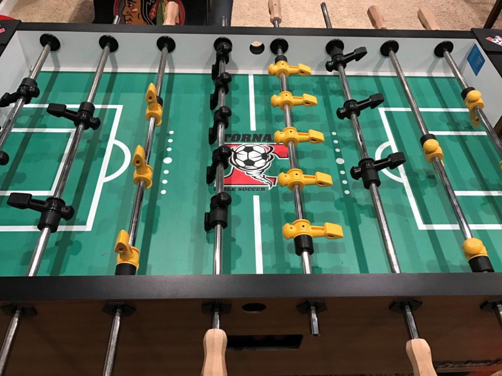 Tornado Foosball Table Playfield