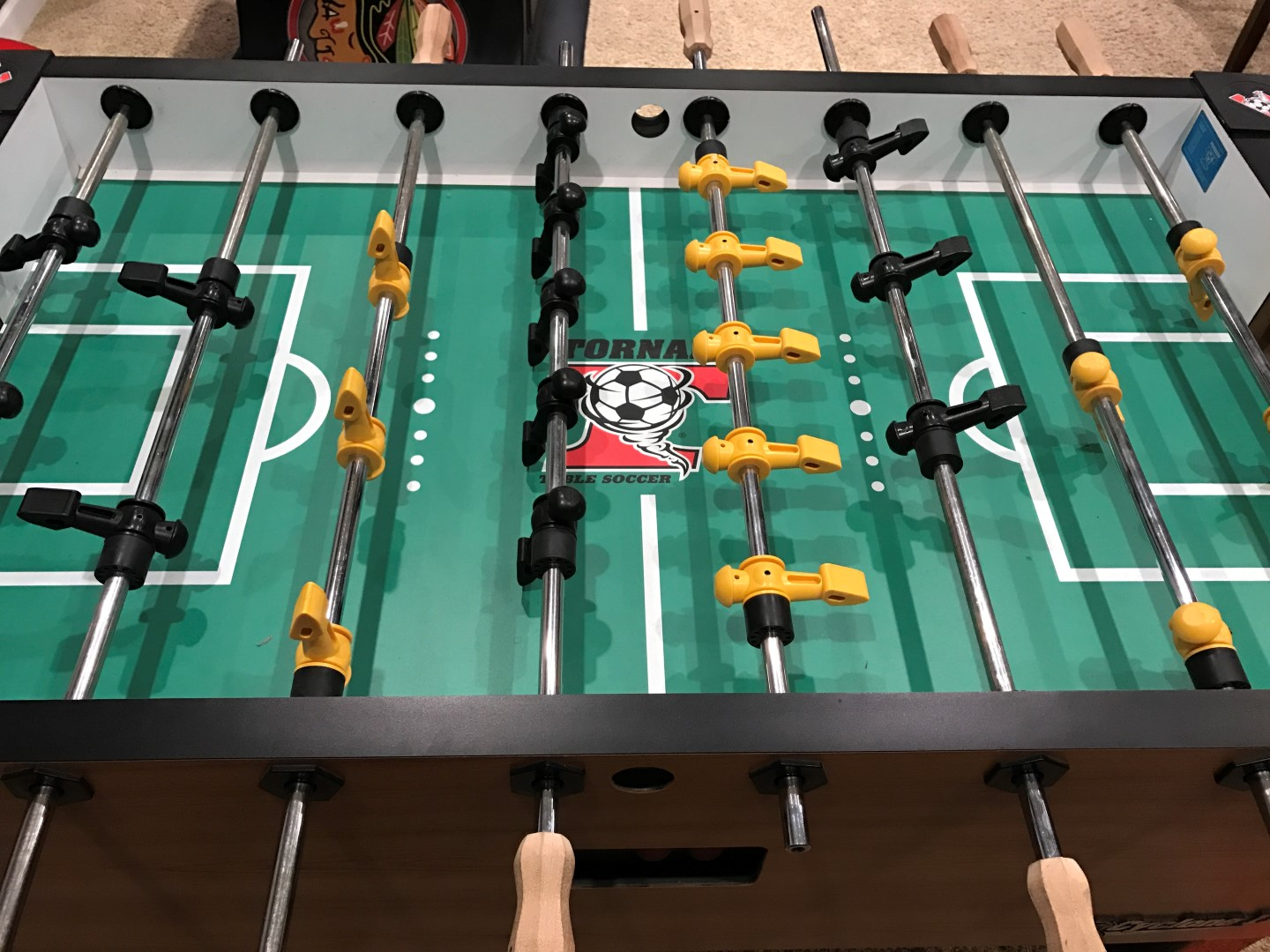 Tornado Foosball Table Guide - Game Room Info