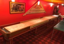 Full Size American Shuffleboard Company Table