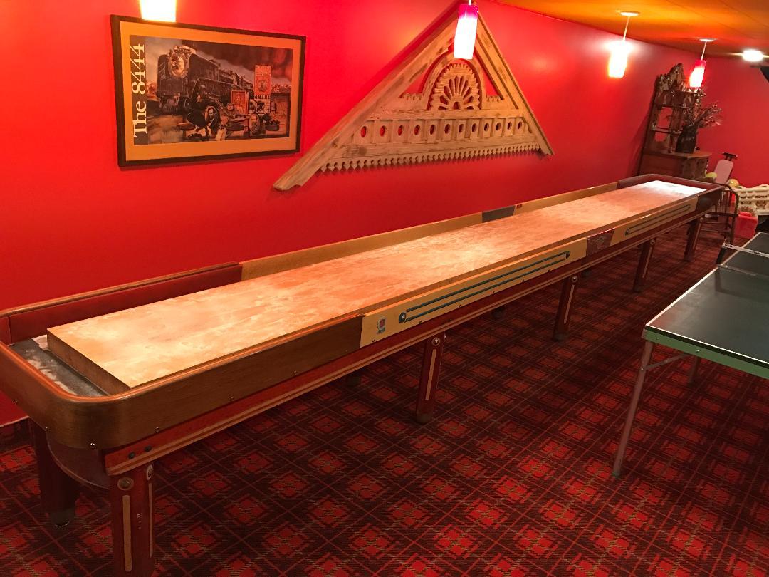 Full Size American Shuffleboard Company Table