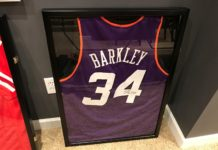Charles Barkley Framed Jersey