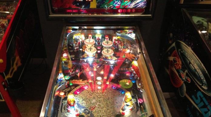 Firepower Pinball Machine with LED's