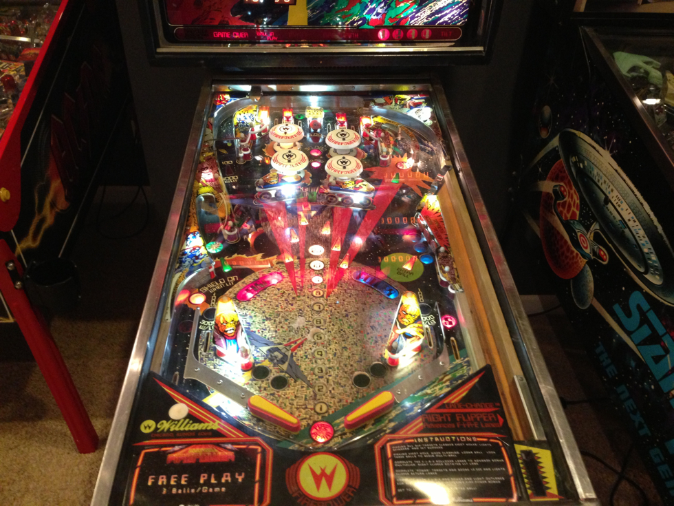 Firepower Pinball Machine with LED's