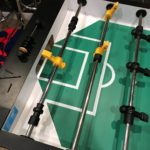 Converting your Foosball Table from Three Goalies to One