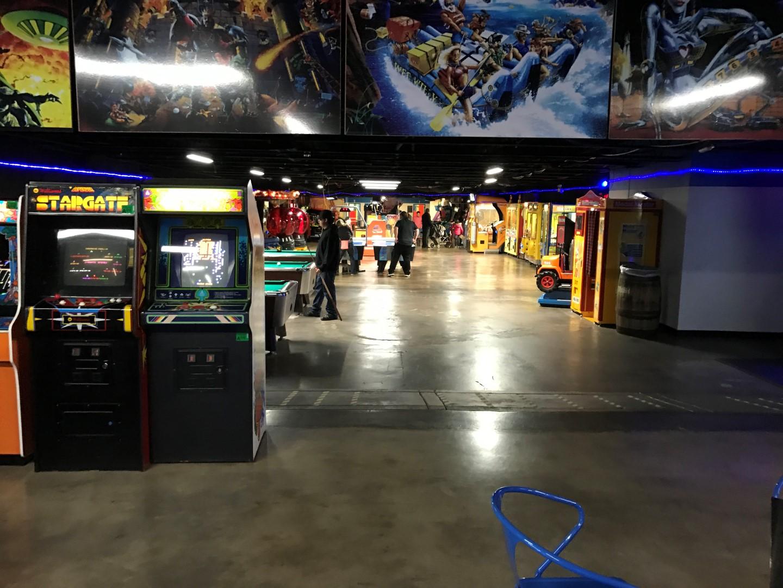 Cactus Jack's Arcade Area