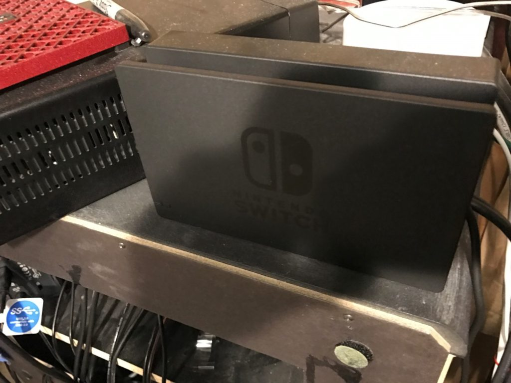 Nintendo Switch Dock Front