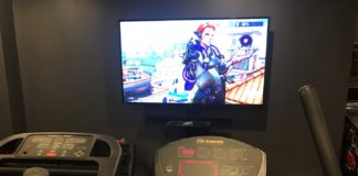 Overwatch on elliptical machine