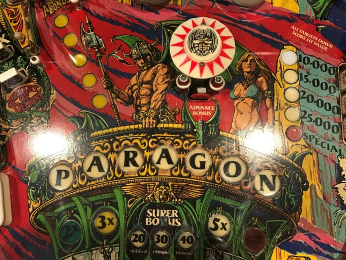 Pinball Machine Under 1000 Paragon