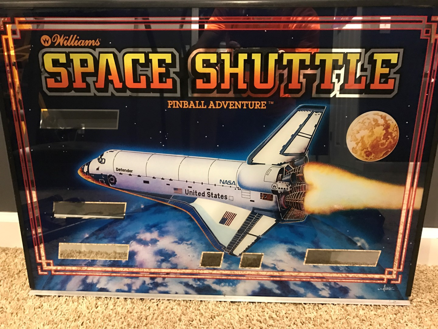 Pinball Machine Under 1000 Space Shuttle