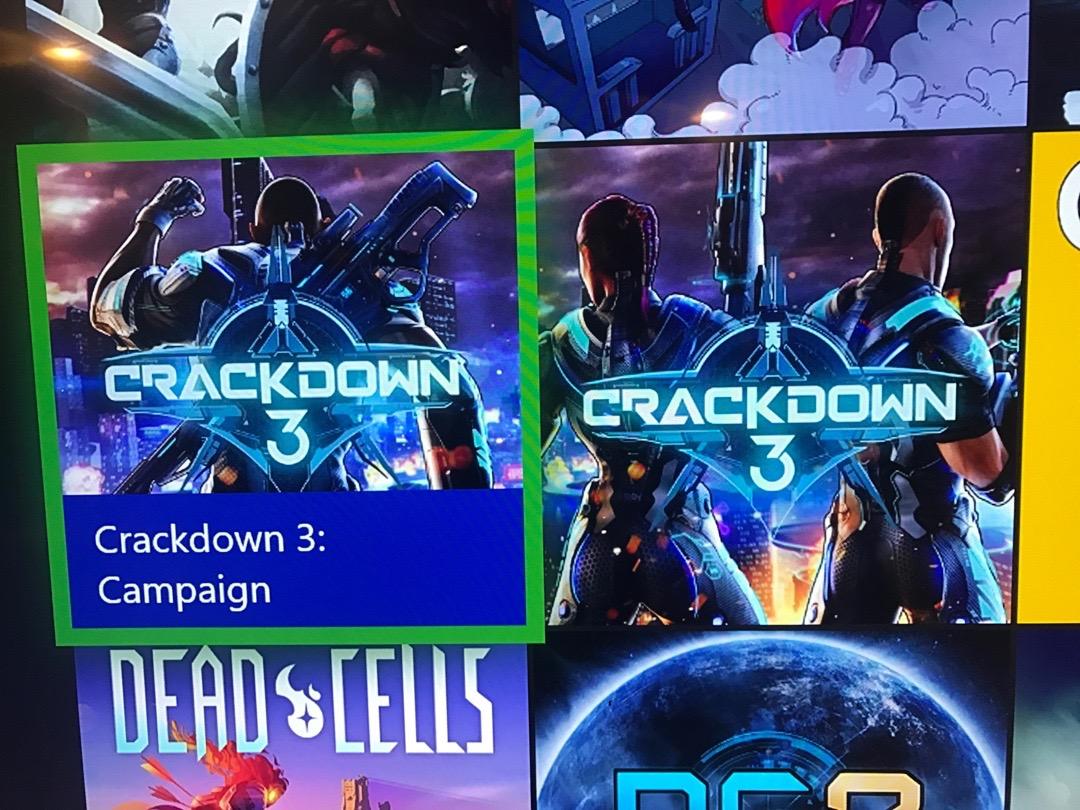 Crackdown 3 Xbox One X