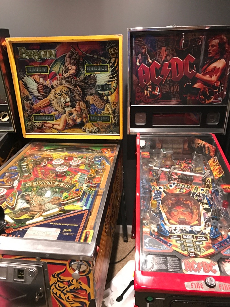 PInball machines to clean