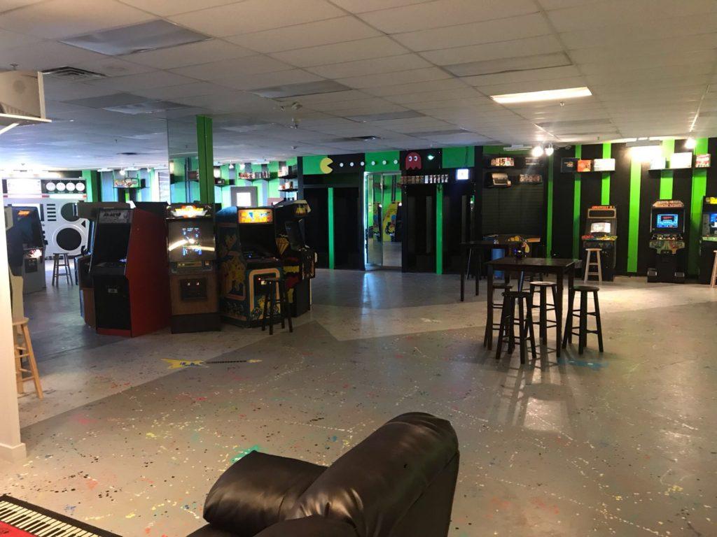 1984 Arcade room