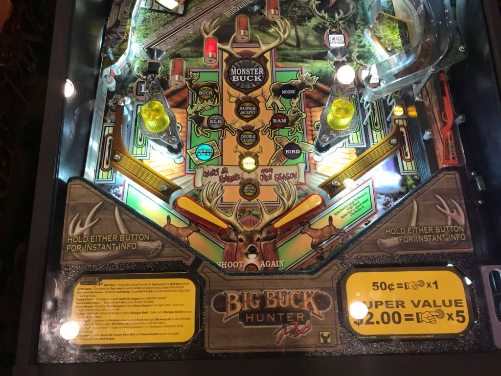 Big Buck Hunter Lower Playfield