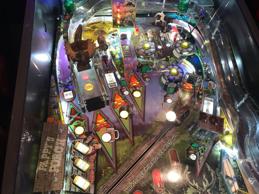 Big Buck Hunter Pinball Upper Playfield