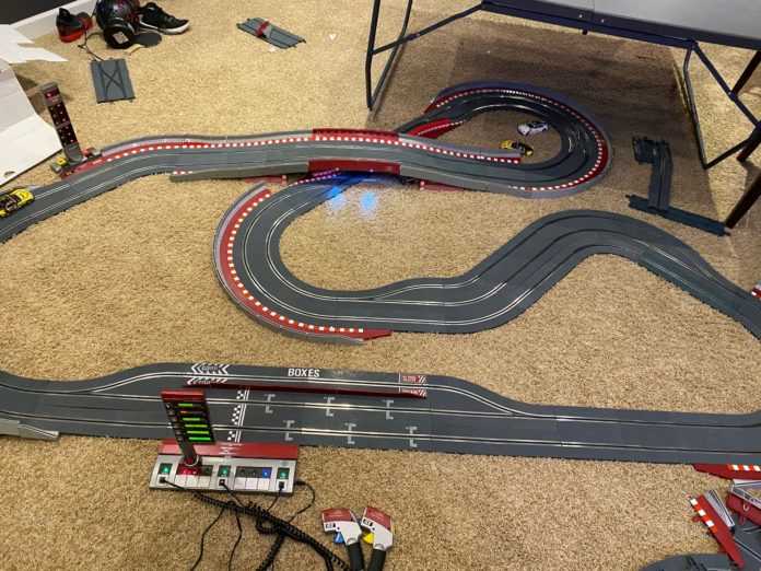 scx digital slot car track