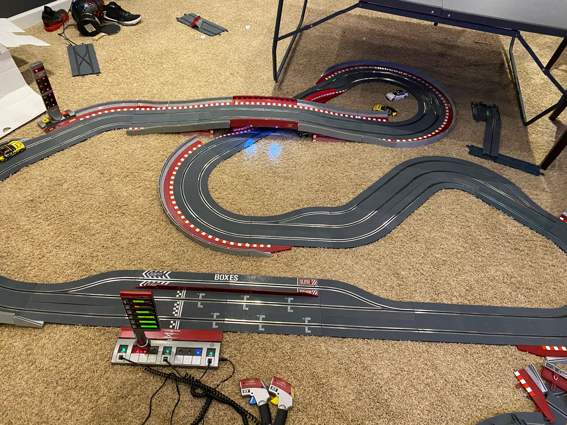 scx digital slot car track