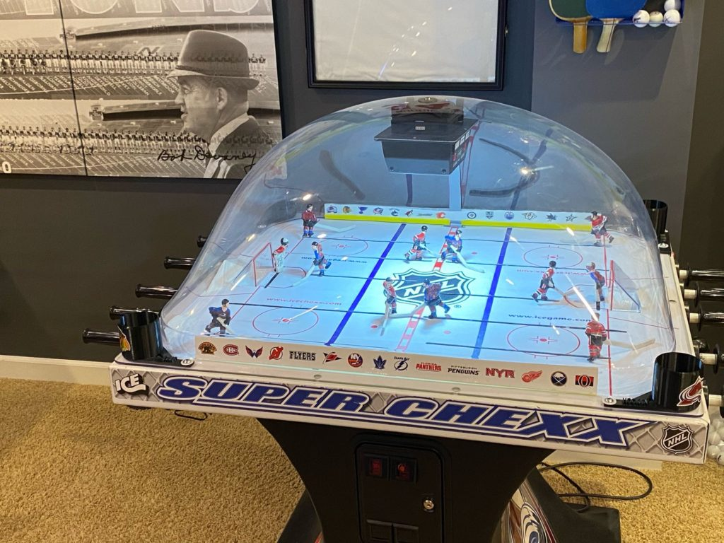 Bubble Hockey cup holder set of 4
